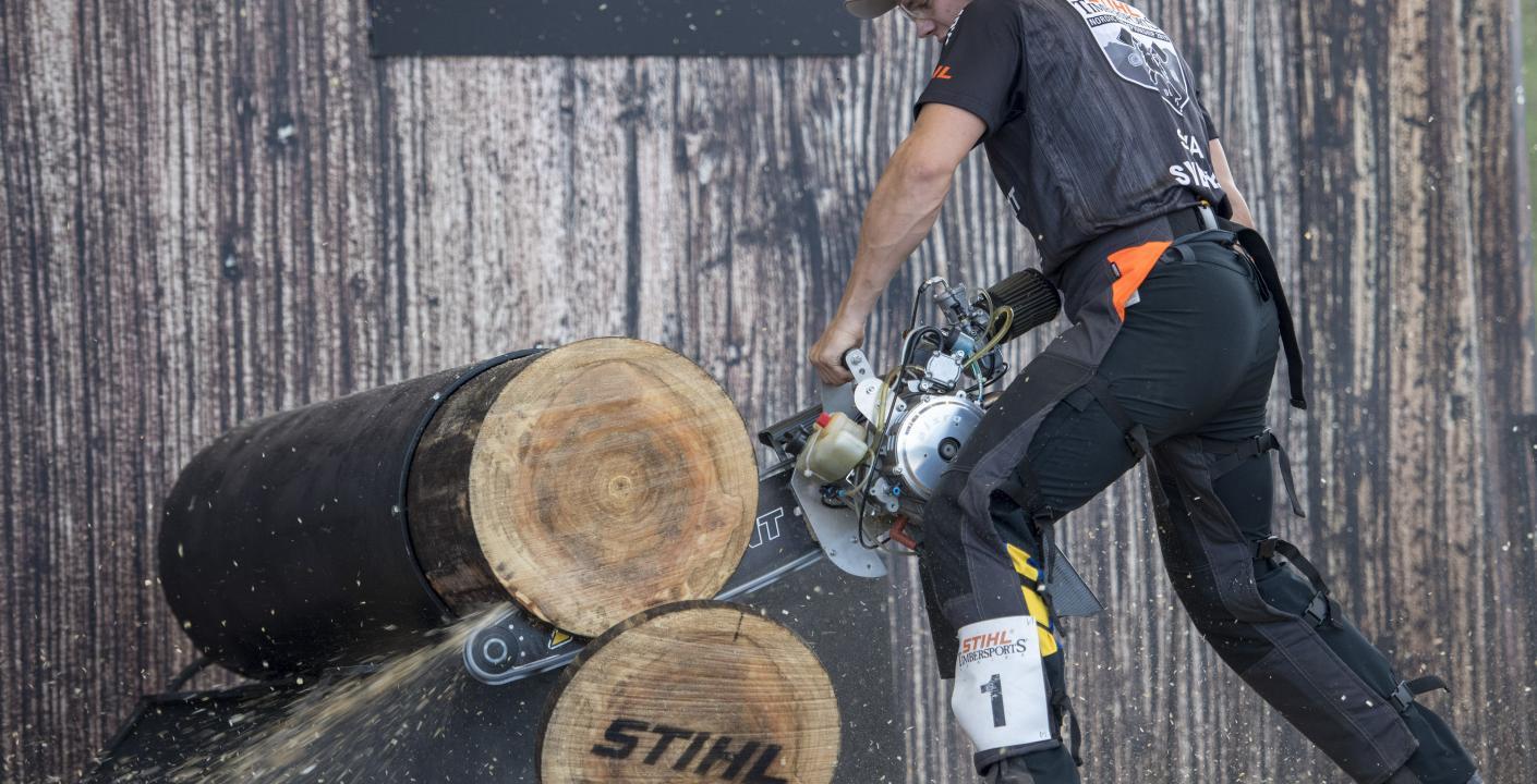 Ferry Svan Qualified For Timbersports Individual World Championship Stihl Timbersports