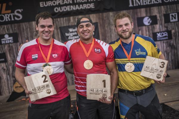 Armin Kugler, Michal Dubicki och Calle Svadling